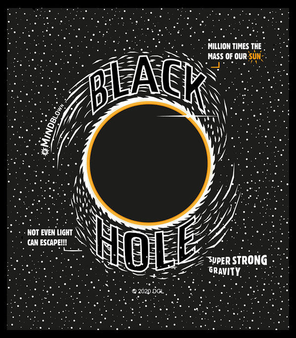 Black Hole - Art Print