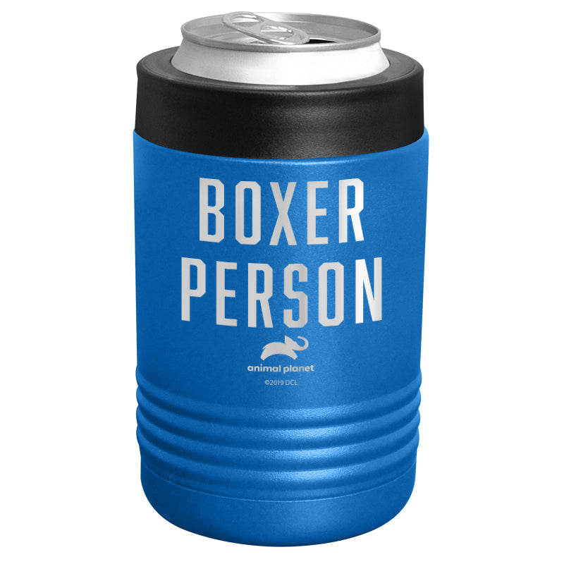 Animal Planet - Boxer Person Stainless Steel Beverage Holder