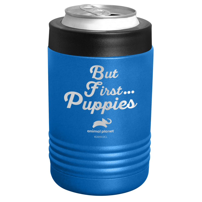 Animal Planet - But First Puppies Stainless Steel Beverage Holder