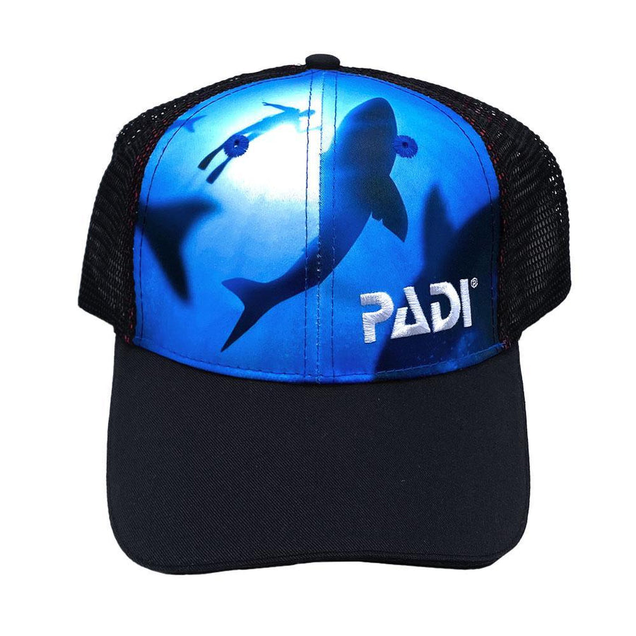 Shark Diver Recycled Plastic Hat