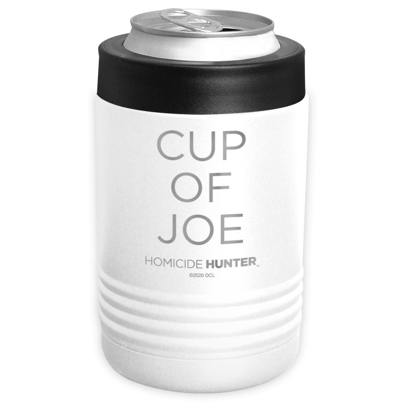 Homicide Hunter - Cup of Joe Stainless Steel Beverage Holder