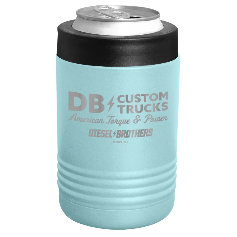 Diesel Brothers - Custom Trucks Sign Stainless Steel Beverage Holder