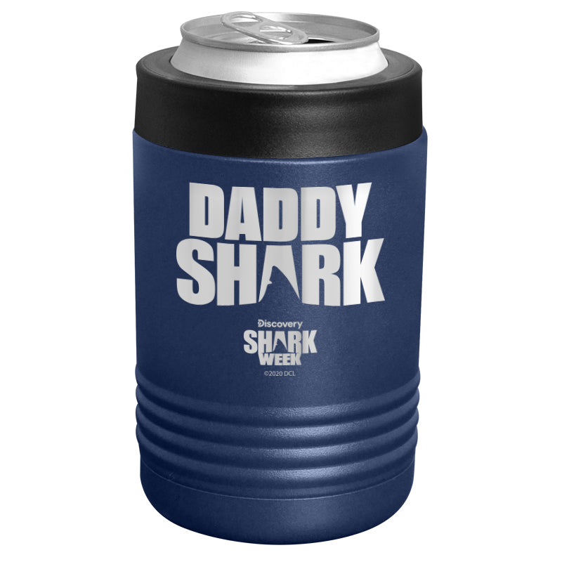 Shark Week - Daddy Shark Silhouette Stainless Steel Beverage Holder