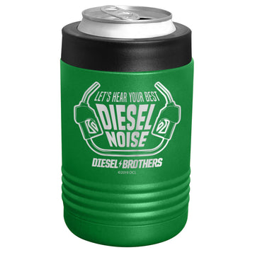 Diesel Brothers - Lets Hear Your Best Diesel Noise Stainless Steel Beverage Holder
