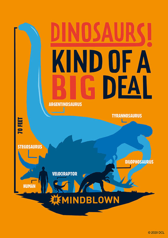 Dinosaurs Kind of a Big Deal - Art Print