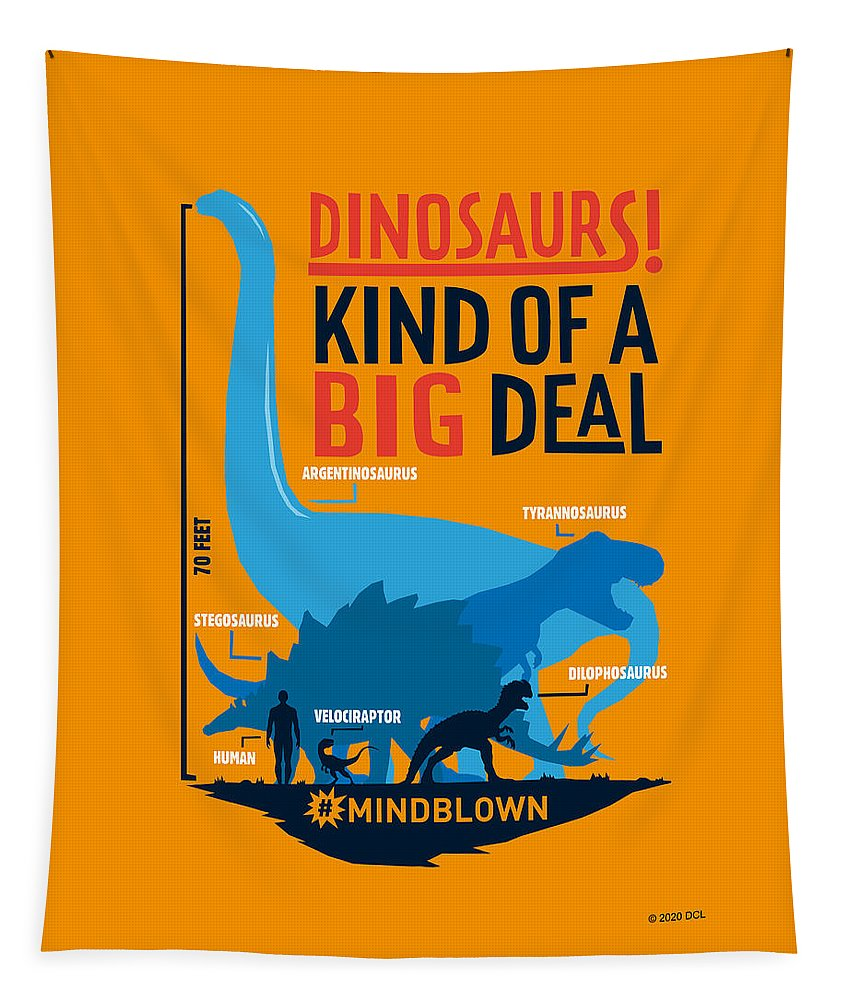 Dinosaurs Kind of a Big Deal - Tapestry
