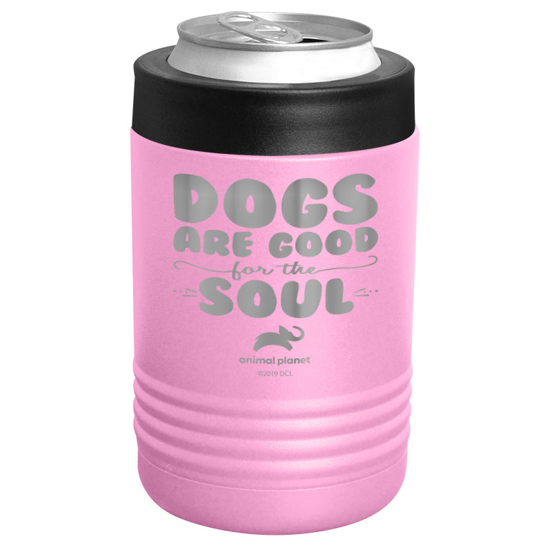 Animal Planet - Dogs Are Good For The Soul Stainless Steel Beverage Holder
