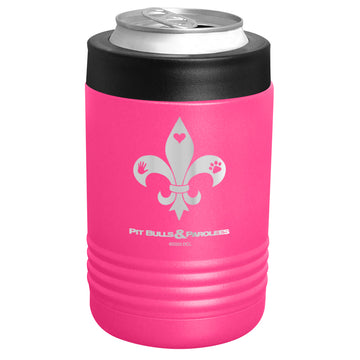 Animal Planet - Pit Bulls & Parolees - Fleur-de-lis Stainless Steel Beverage Holder