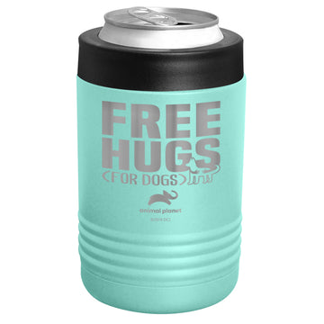 Animal Planet - Free Hugs for Dogs Stainless Steel Beverage Holder