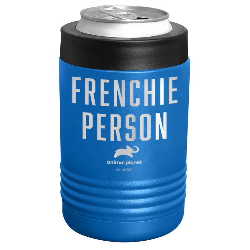 Animal Planet - Frenchie Person Stainless Steel Beverage Holder