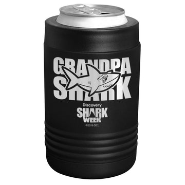 Shark Week - Grandpa Shark Stainless Steel Beverage Holder