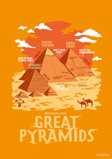 Great Pyramids - Art Print