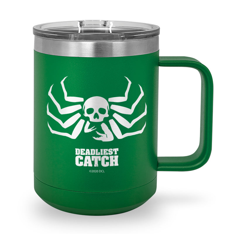 Deadliest Catch Crab Laser Etched Stainless Steel Coffee Mug