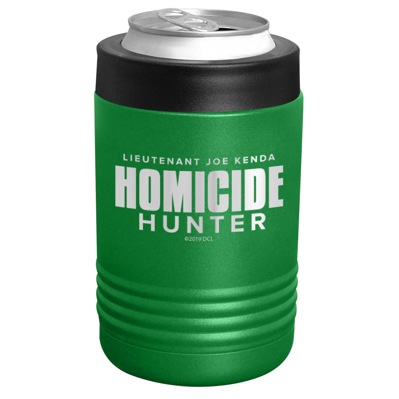 Homicide Hunter - Homicide Hunter Logo Stainless Steel Beverage Holder