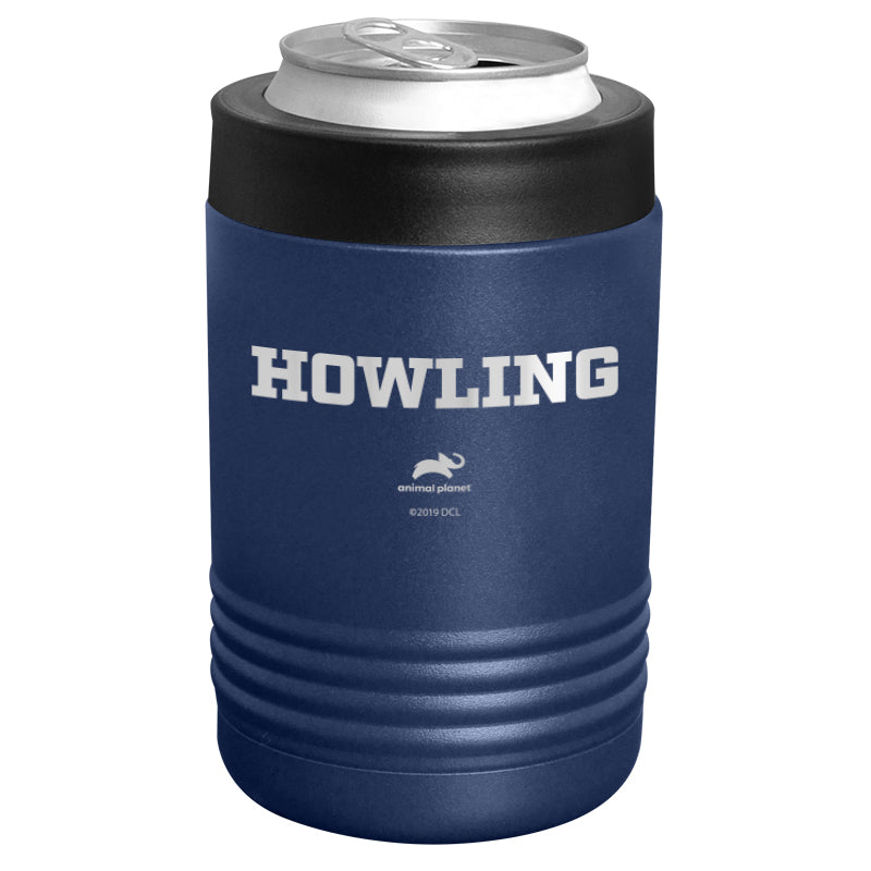 Animal Planet - Howling Stainless Steel Beverage Holder