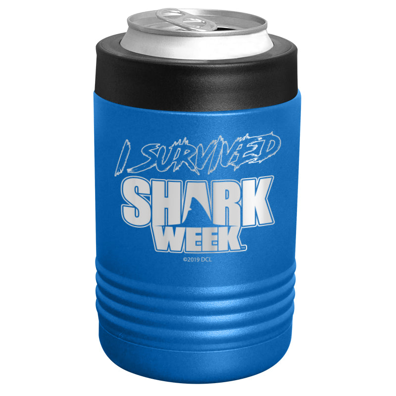 Shark Week - I Survived Shark Week Stainless Steel Beverage Holder