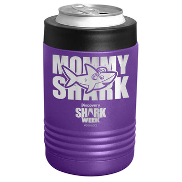 Shark Week - Mommy Shark Stainless Steel Beverage Holder