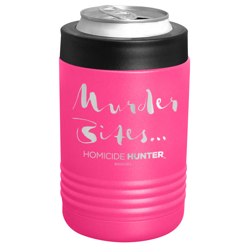 Homicide Hunter - Murder Bites Stainless Steel Beverage Holder