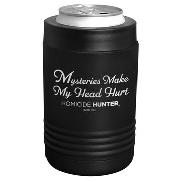 Homicide Hunter - Mysteries Stainless Steel Beverage Holder