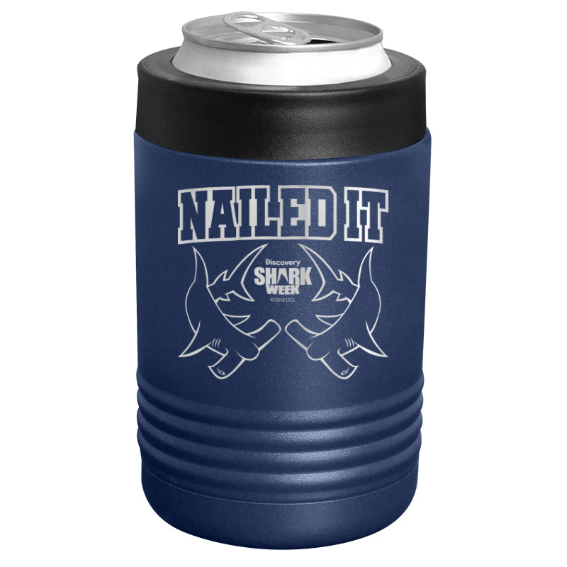 Shark Week - Nailed It Stainless Steel Beverage Holder