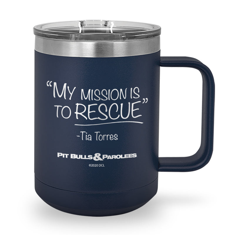 Mission Laser Etched Coffee Mug