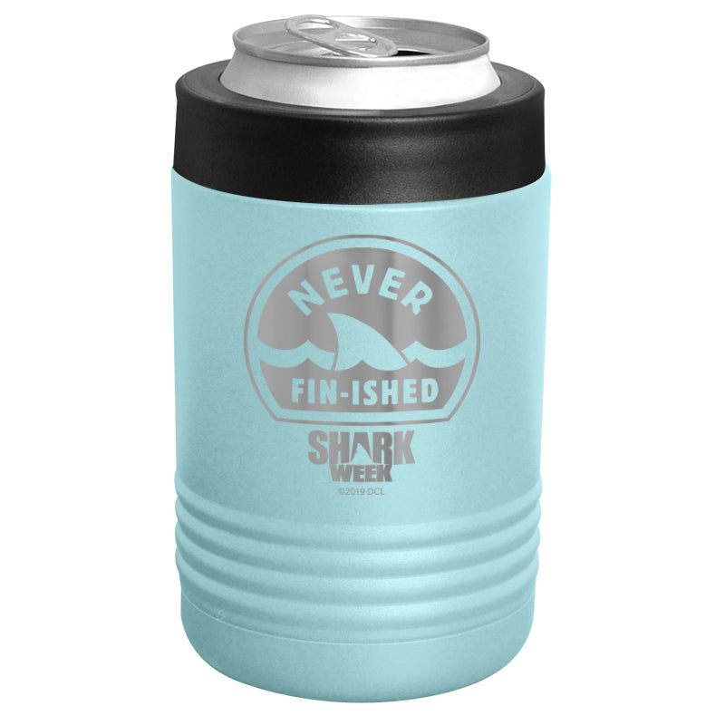 Shark Week - Never Fin-ished Stainless Steel Beverage Holder