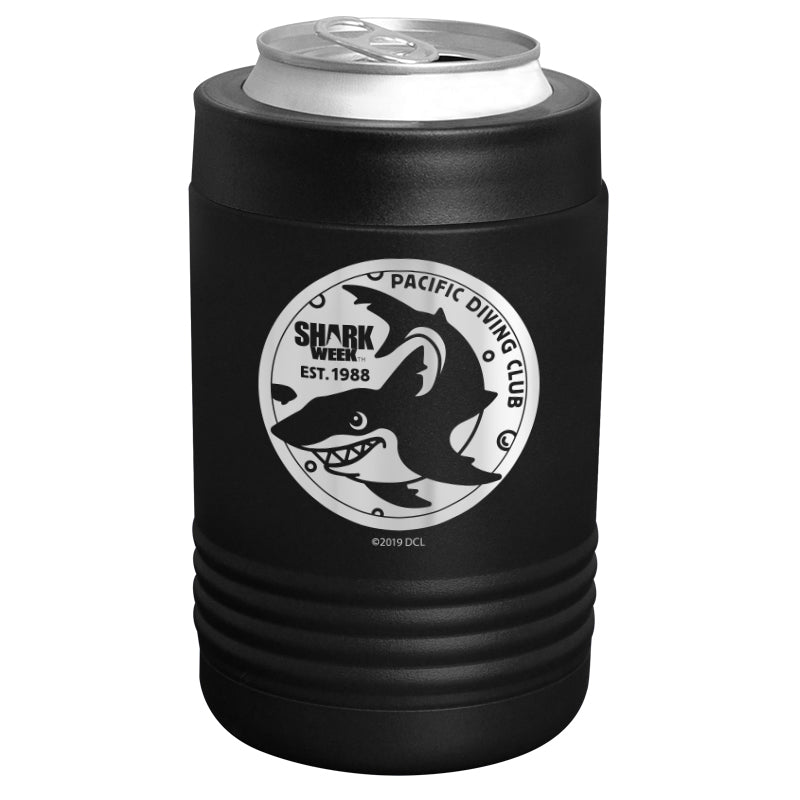 Shark Week - Pacific Diving Club Stainless Steel Beverage Holder
