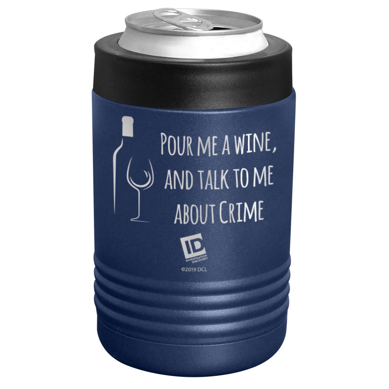 ID Network - Pour Me A Wine Stainless Steel Beverage Holder