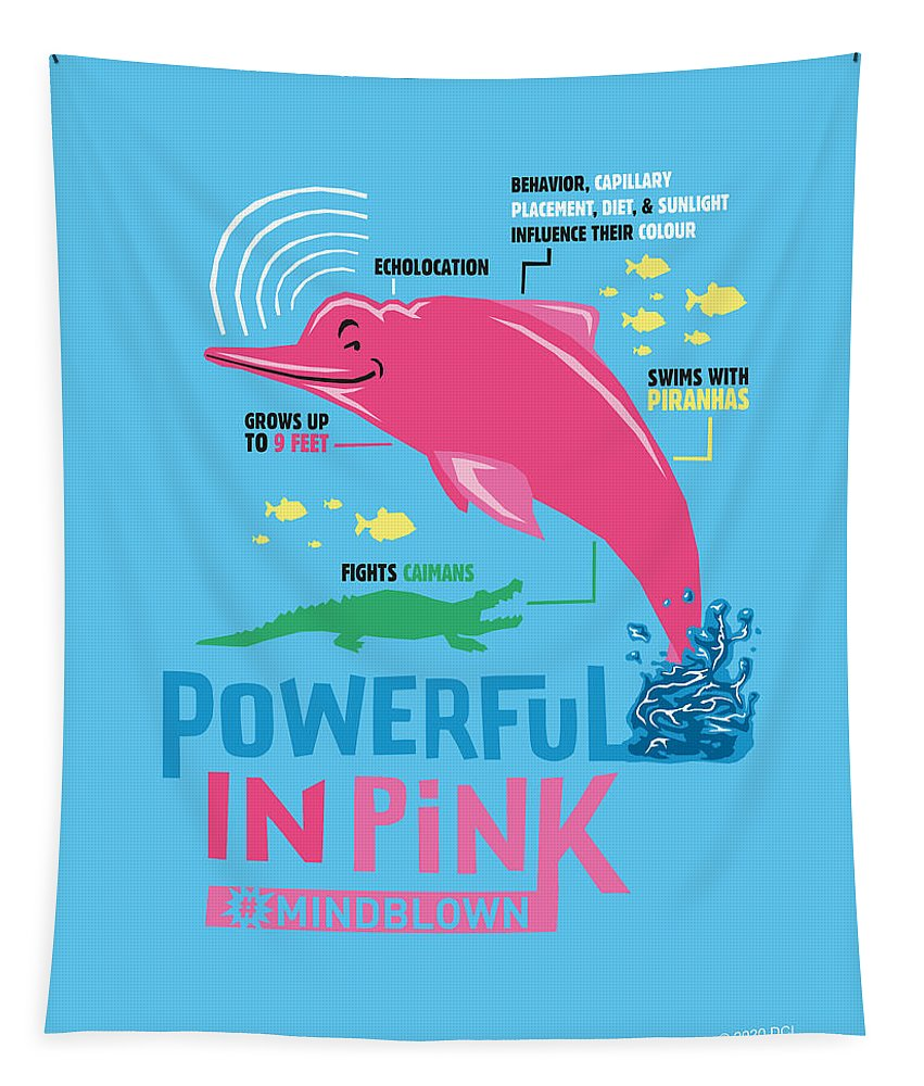 Powerful in Pink - Tapestry