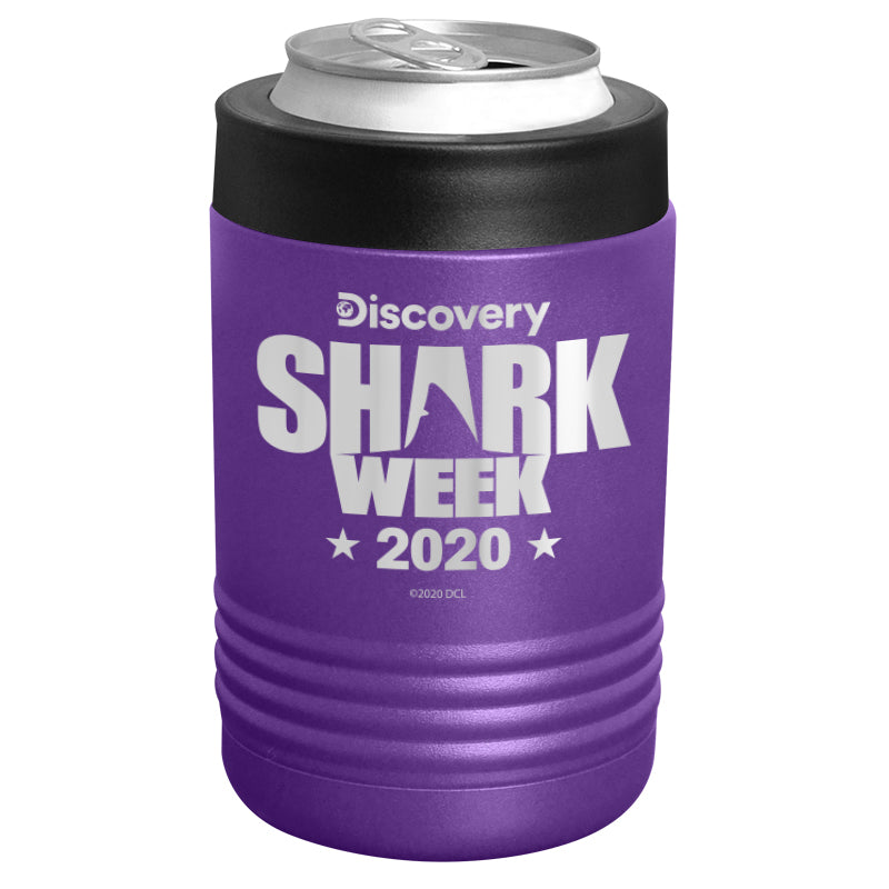 Shark Week 2020 Logo Stainless Steel Beverage Holder