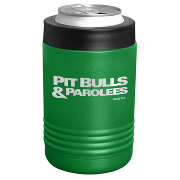 Pit Bulls & Parolees - Pit Bulls & Parolees Logo Stainless Steel Beverage Holder