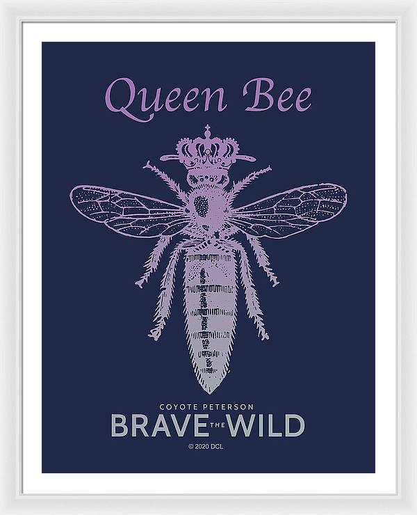 Queen Bee - Framed Print