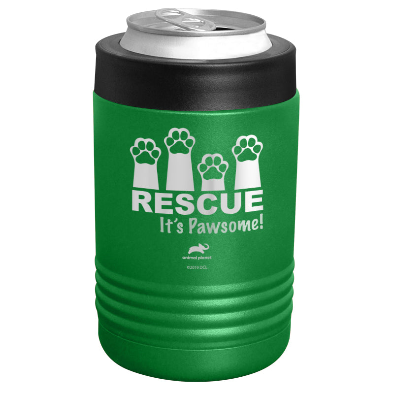 Animal Planet - Rescue It's Pawsome Stainless Steel Beverage Holder