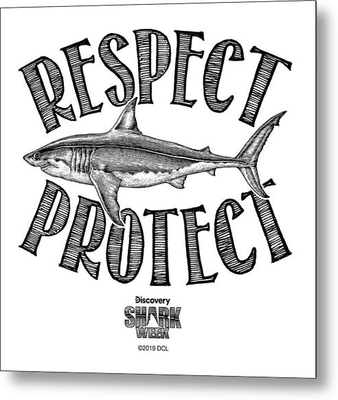 Respect Protect - Metal Print
