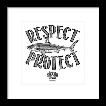Respect Protect - Framed Print