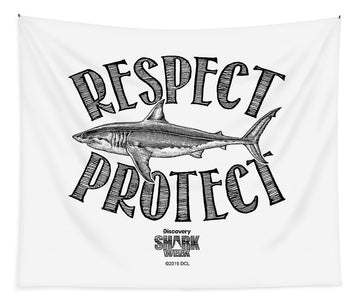 Respect Protect - Tapestry