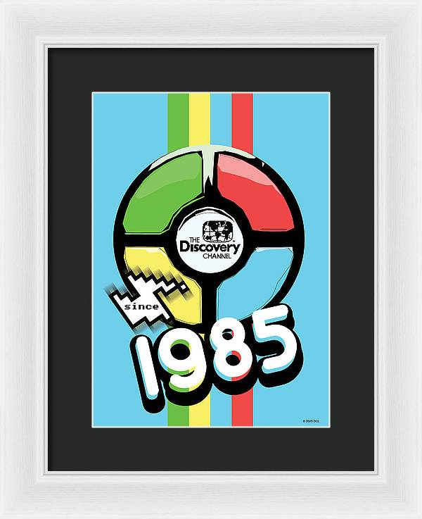 Retro Game - Framed Print