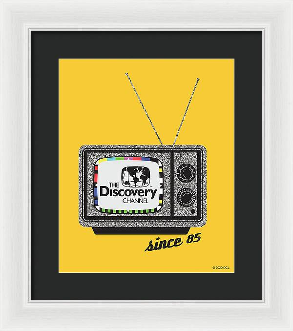 Retro TV - Framed Print