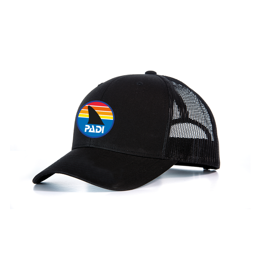 Retro Shark Fin Trucker Hat