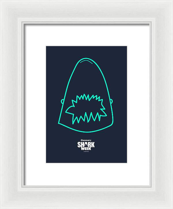 Neon Illustration  - Framed Print