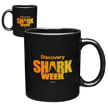 Shark Week Logo - Orange Gradient