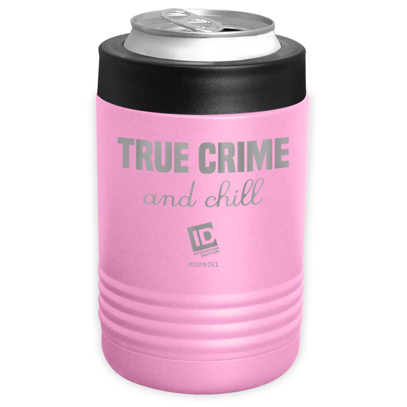 ID Network - True Crime and Chill Stainless Steel Beverage Holder