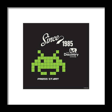 Retro Video Game - Framed Print