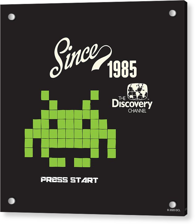 Retro Video Game - Acrylic Print