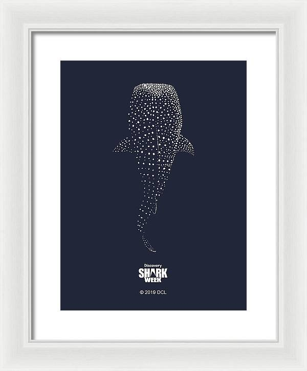 Whale Shark - Framed Print