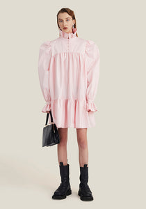 Mini Ruffle Dress, Soft Pink (4400848797780)