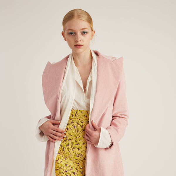 Blazer, Light Pink