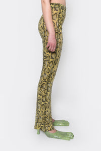 Apartment Pants, Snake Print