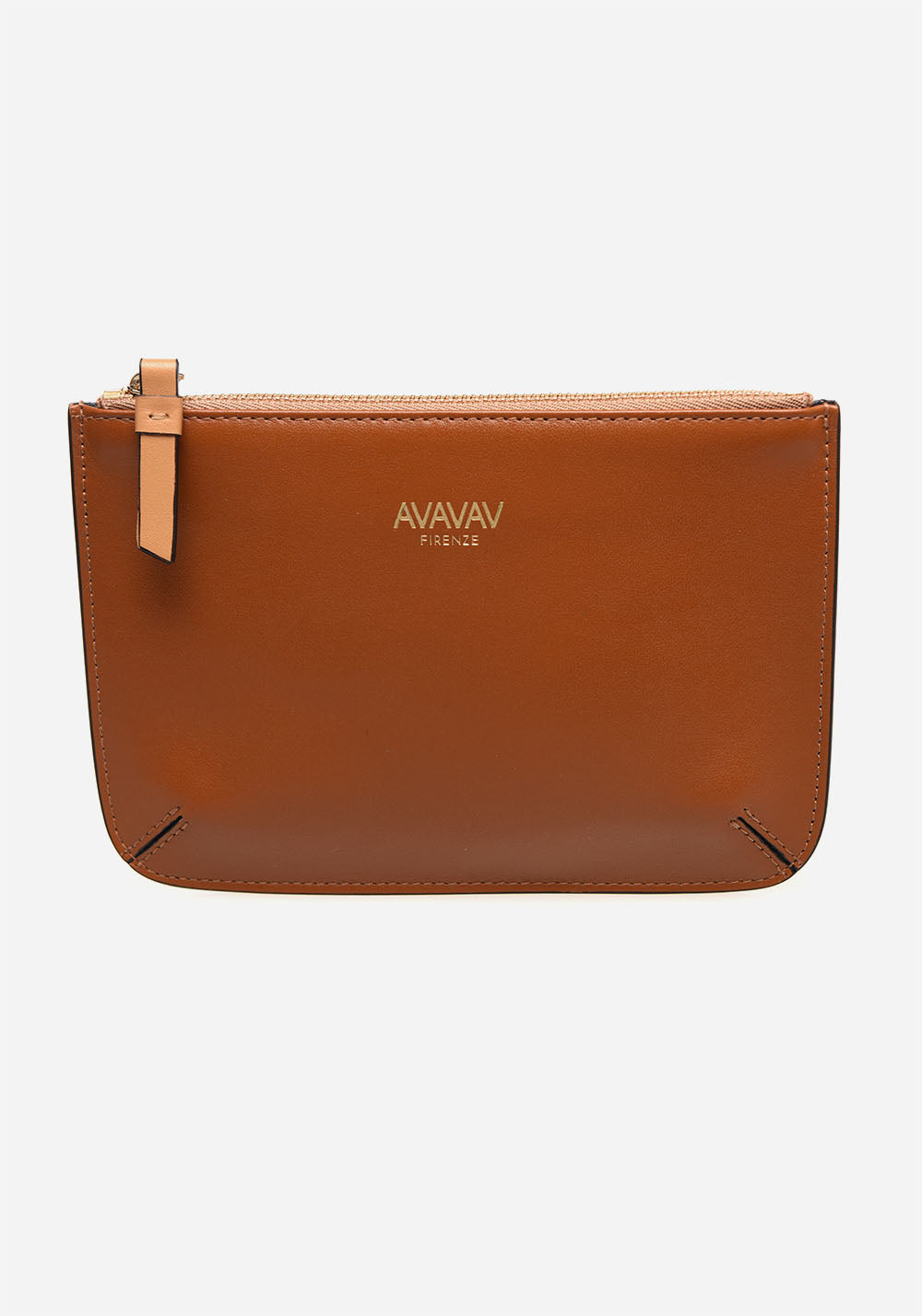 Small Pouch in Cognac - AVAVAV-Small Pouch in Cognac