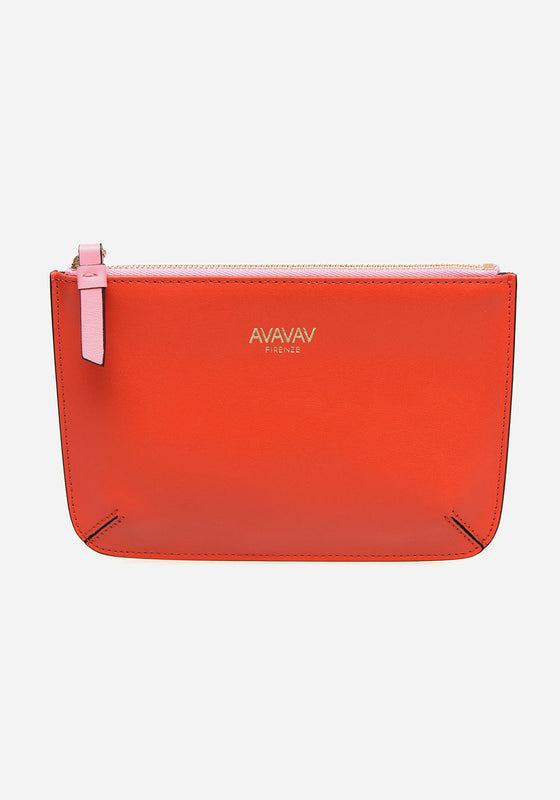 Small Pouch in Bright Red - AVAVAV-Small Pouch in Bright Red